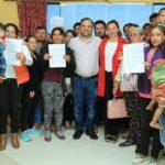 Familias vulnerables acceden a lotes con Tekoha en Coronel Oviedo