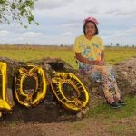 Abuelita celebró sus 100 años de vida en Coronel Oviedo