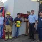 Cooperativa San José de los Arroyos Ltda, habilita boca hidrante para caso de emergencia