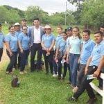 Empresa CIME brinda asistencia a docentes en manifestación en Coronel Oviedo