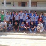 Primera promoción de Ingenieros Agrónomos de la UNCA festejan el último día de clases