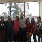 Intendente Eladio González recibe en audiencia a ciudadanos