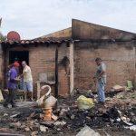 Incendio destruyó una vivienda en Coronel Oviedo