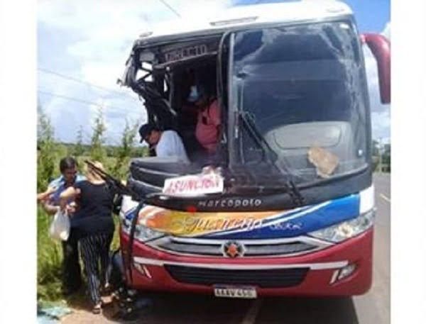 Grave accidente de tránsito en Coronel Oviedo