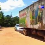 Exempleado asalta a camión transportador de productos en Coronel Oviedo
