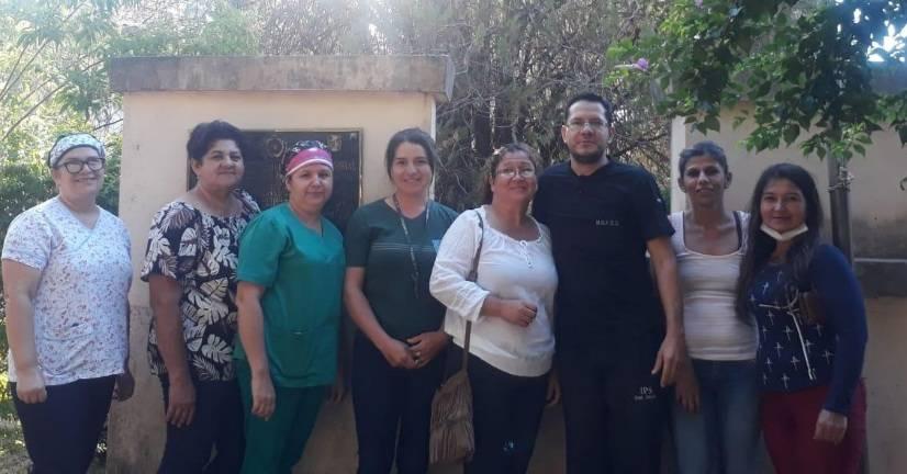 Radiólogo donó su sueldo a limpiadoras del Hospital de Coronel Oviedo