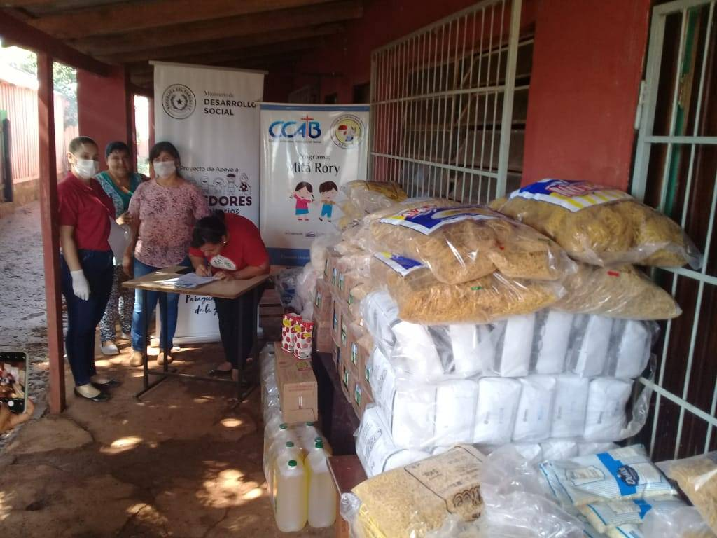 MDS entregó más de 35 toneladas de víveres a comedores comunitarios