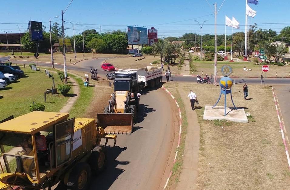 Intendente anuncia cierre de accesos a Coronel Oviedo