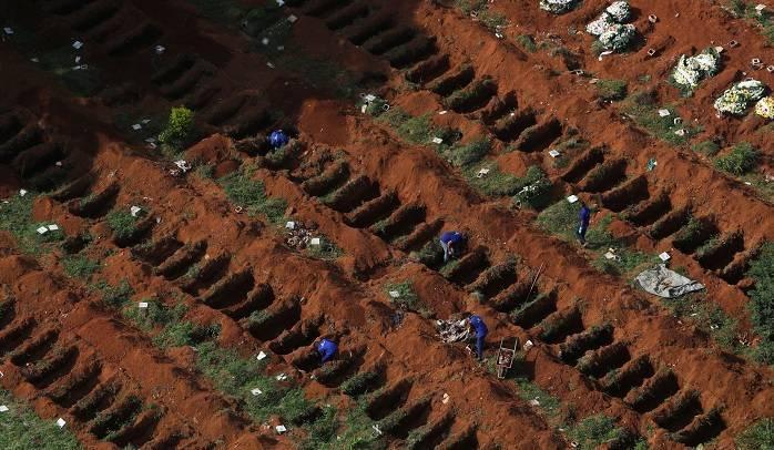 Brasil prepara el cementerio más grande de Latinoamérica para oleada de muertes