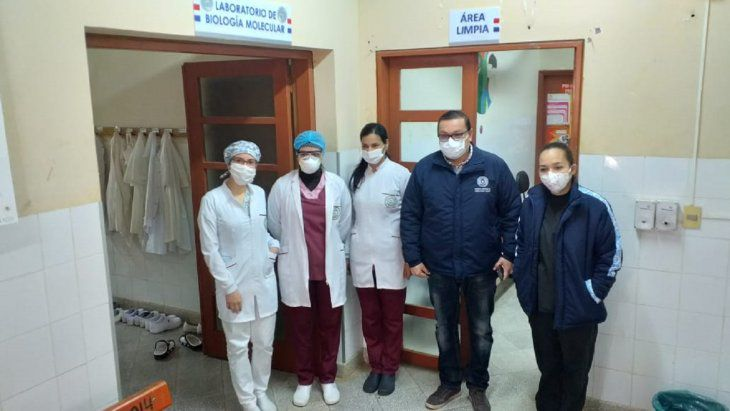 En el Hospital de Coronel Oviedo ya procesan muestras de Covid-19