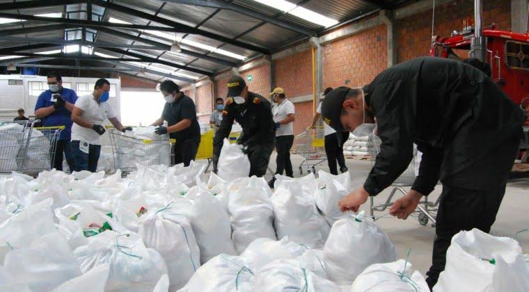 No habrá segundo pago de Ñangareko: SEN prepara kits alimentarios de 45 kilos