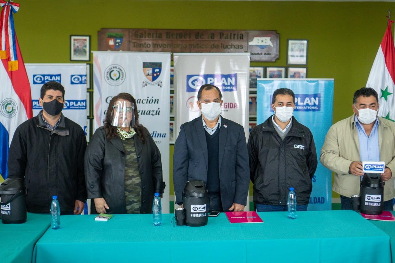 CODENIs del departamento de Caaguazú reciben elementos de trabajo