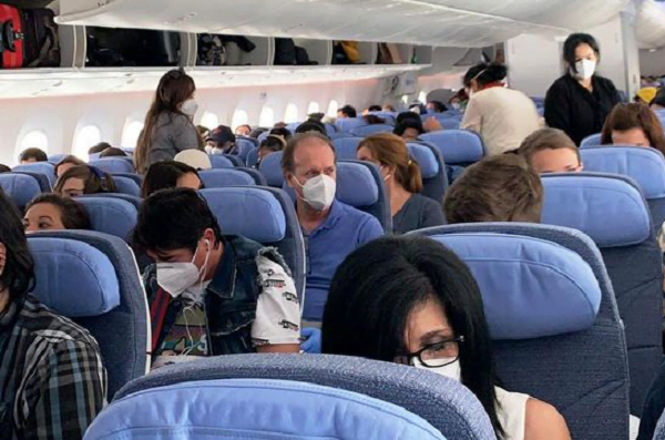 Llegarán 337 compatriotas desde Europa, algunos realizarán cuarentena en sus 'hogares'