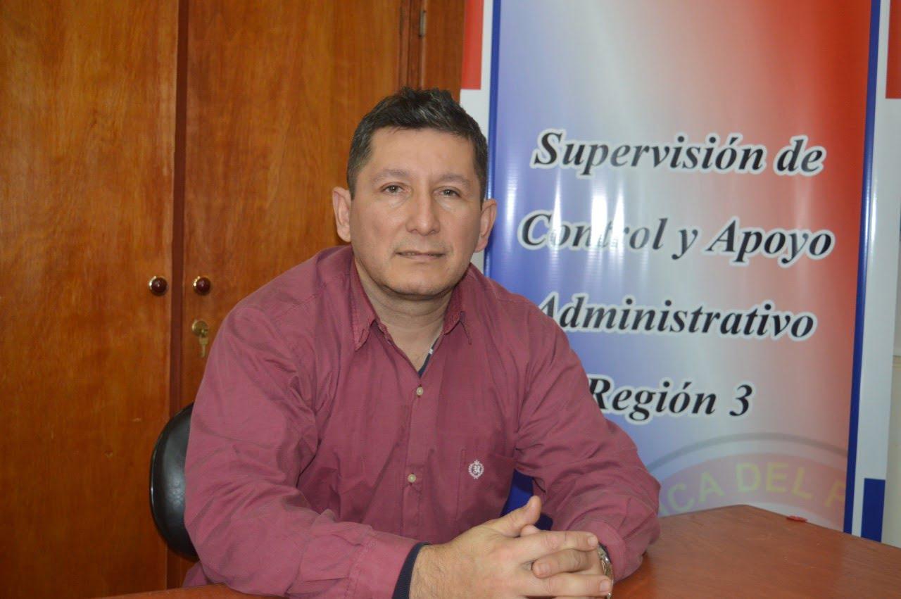 Supervisión administrativa Región 3, realiza control de clases virtuales