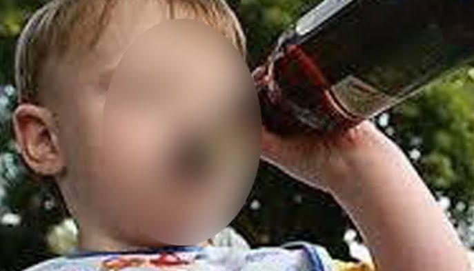 Niño de 4 años en coma etílico tras beber vino