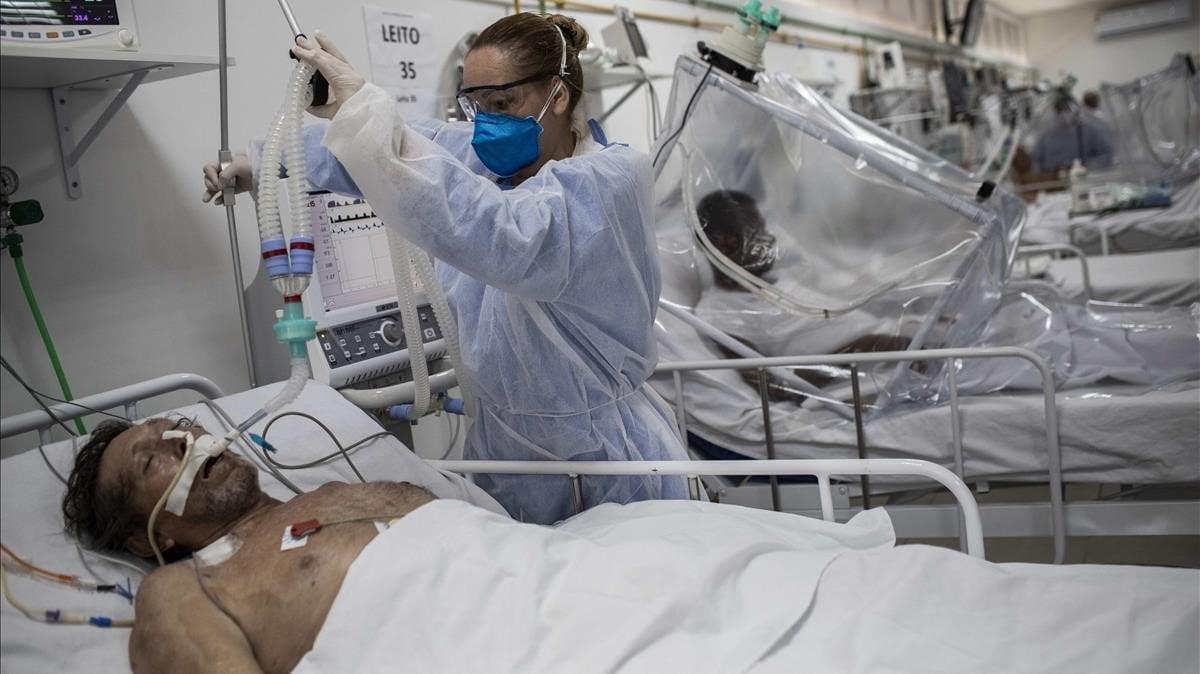 Brasil ya tiene medio millón de casos de covid-19 y más de 29.000 muertos