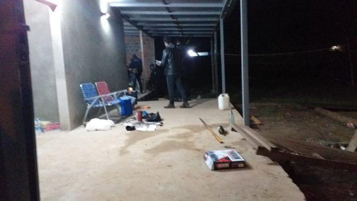 Allanan una vivienda por el caso del asesinato de Pedro Riquelme