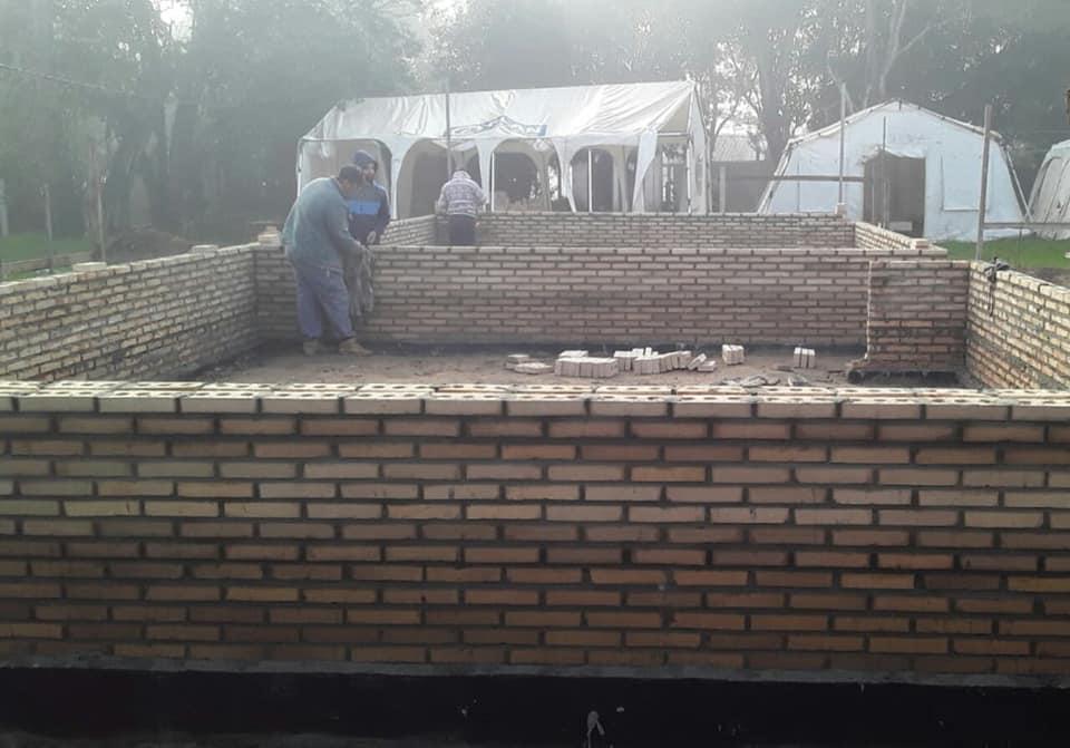 Caazapá: Obras en escuelas de Buena Vista y Abaí
