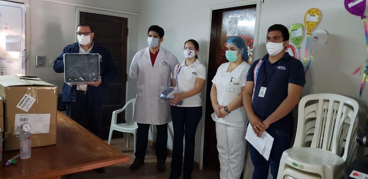 Hospital de Coronel Oviedo cuenta con más camas para terapia intensiva