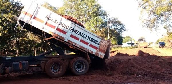 Municipio ovetense repara caminos vecinales