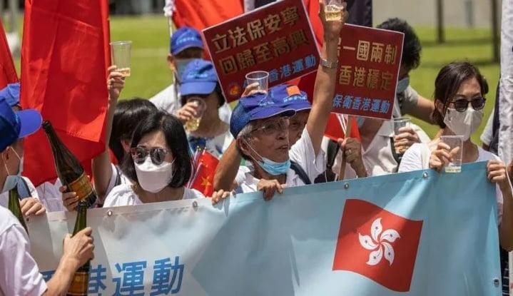 Con penas de cadena perpetua, China promulga ley de seguridad en Hong Kong