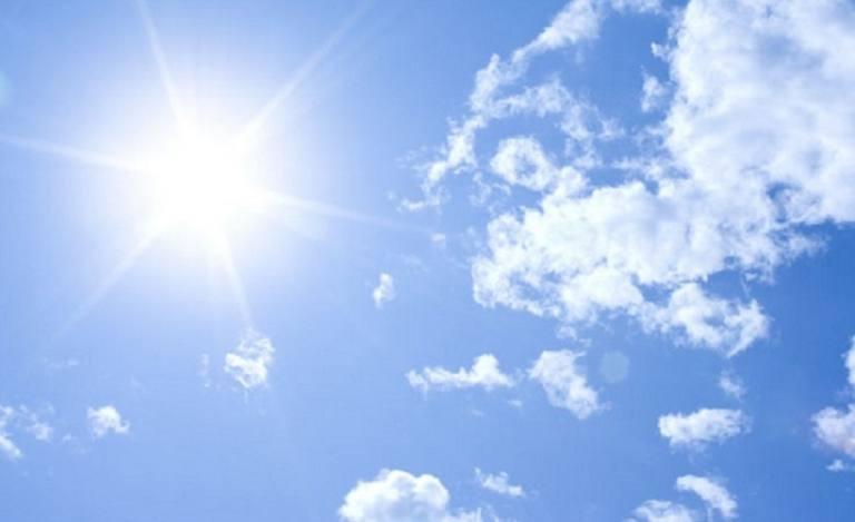Fin de semana caluroso y soleado