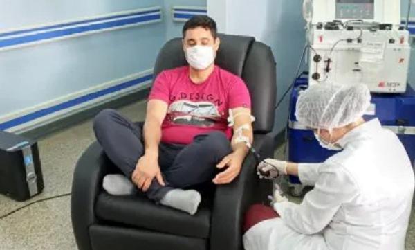 Primer donante de plasma convaleciente en Ciudad del Este