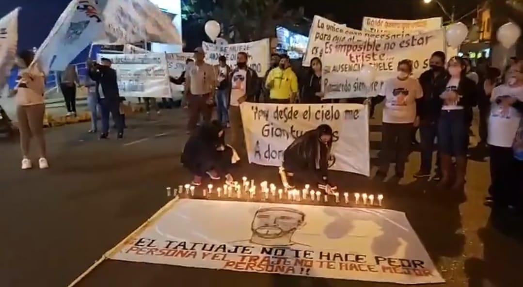 Con manifestación piden Justicia para Ismael