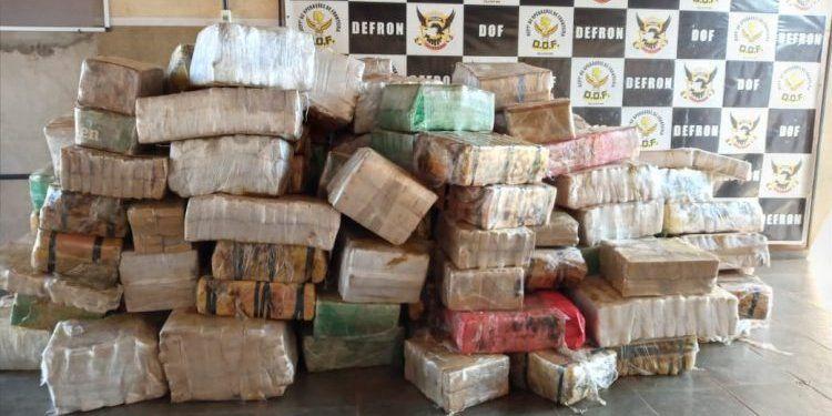 Incautan en Brasil 3,2 toneladas de marihuana paraguaya
