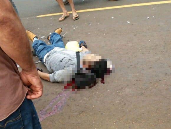 Fatal accidente de tránsito en Coronel Oviedo