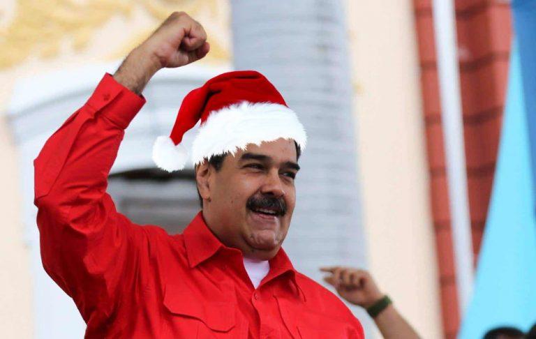 Maduro decretó que la Navidad en Venezuela comenzará el 15 de octubre