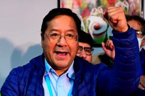 Candidato de Evo Morales, virtual ganador de comicios en Bolivia