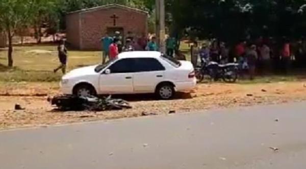 Fatal accidente de tránsito en Repatriación