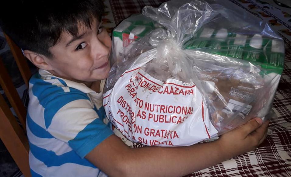 Más niños reciben merienda escolar en Caazapá