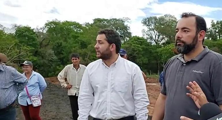 MOPC autorizó a intendente a retirar fresados en zona de Caaguazú