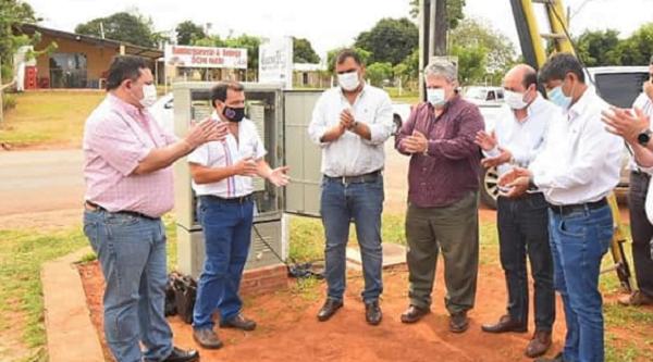 Copaco habilita en Caazapá internet de alta velocidad