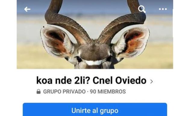 """Casería de cuernos """"Kóa nde 2li?"""" llegó a Coronel Oviedo"""