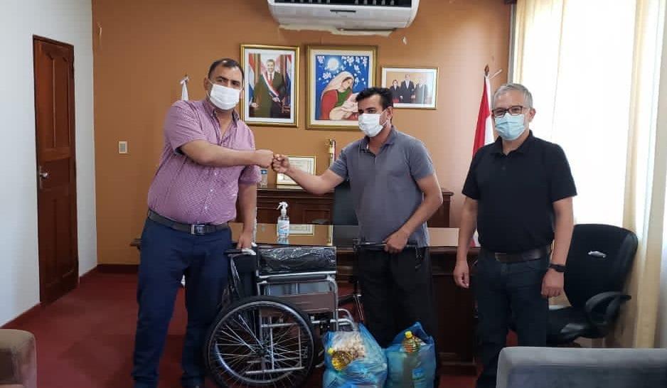 Gobernación de Caazapá brinda asistencia a personas de tercera edad
