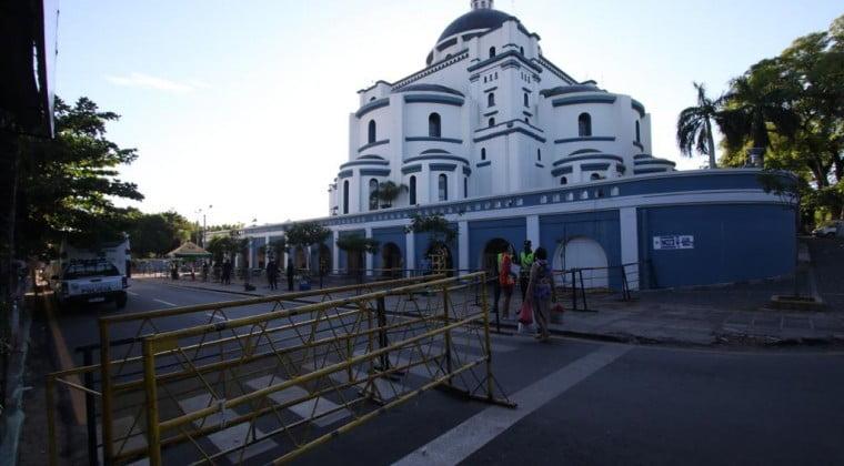 Inició novenario de Caacupé con la basílica vacía por el Covid