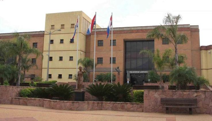 Cesan actividades en Poder Judicial de Coronel Oviedo por covid-19