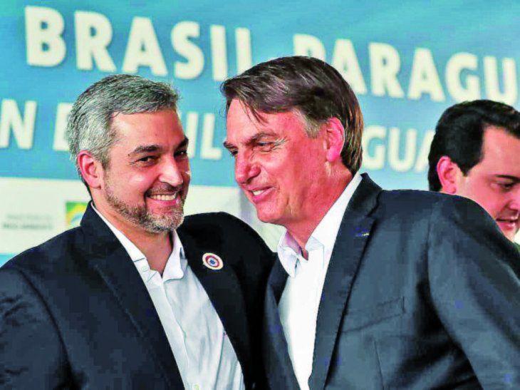 Abdo y Bolsonaro hablarán hoy del Anexo C y puentes