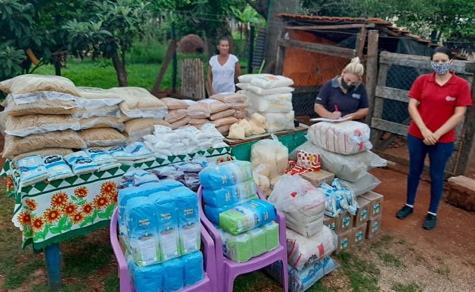Departamentos de Caaguazú e Itapúa reciben alimentos para ollas populares