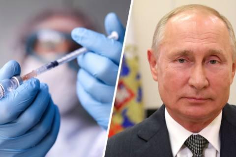Putin ordena comenzar vacunación masiva contra el covid-19