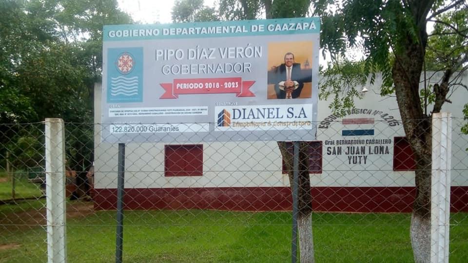 Caazapá: Inician obras en San Juan Nepomuceno, Yuty y Caazapá