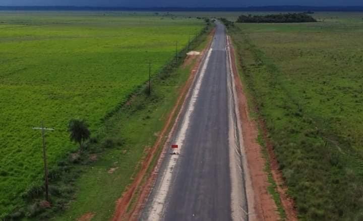 Avanza asfaltado del tramo Caazapá – Boquerón