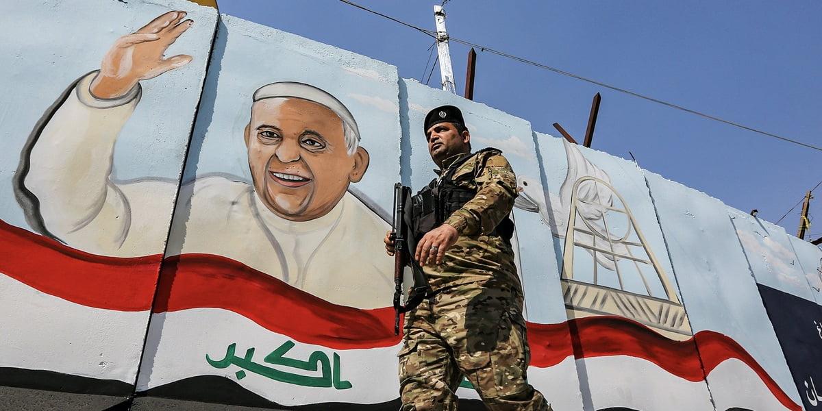Por primera vez en la historia, un Papa visitará Irak