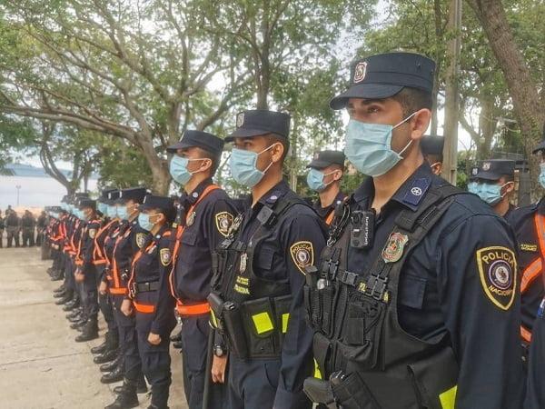 Policía entra en alerta máxima ante movilización ciudadana