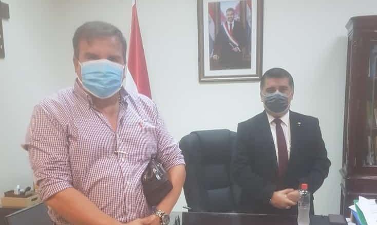 Preocupado por la situación sanitaria, Dani Fleitas se reúne con el Ministro de Salud